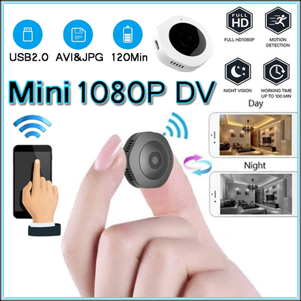 Mini Spy Camera Wireless Wifi IP Night Vision HD 1080P Security Camcorder DV DVR