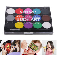 5//6//8 Color Body Face Paint Kit Art Makeup Painting Pigment Dress Up Party $TKH