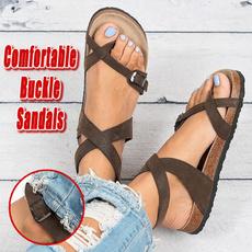 bohemia, Summer, Sandals, Fashion