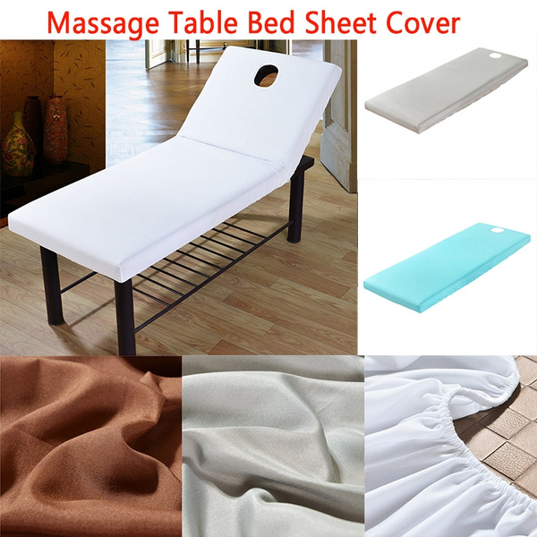 Swell Happyorder Beauty Massage Elastic Spa Bed Table Cover Hotel Bedding Salon Couch Sheet Ibusinesslaw Wood Chair Design Ideas Ibusinesslaworg