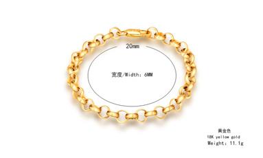 Crystal Bracelet, Chain, gold, Bracelet Charm