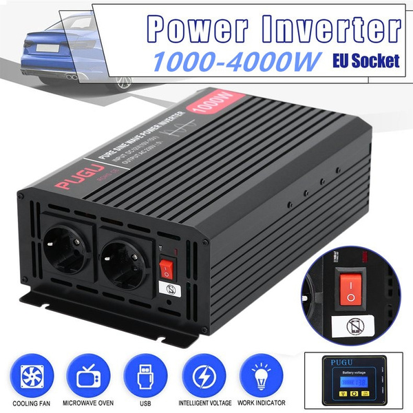 1000w 4000w Camping Boat Car Power Inverter Modified Sine Wave Converter