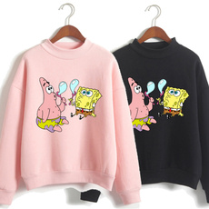 Fashion, Sleeve, Sponge Bob, Long Sleeve