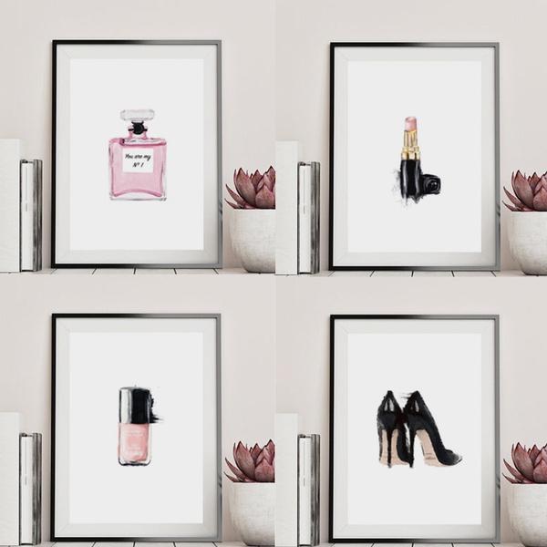 art print, Fashion, Wall Art, Lipstick