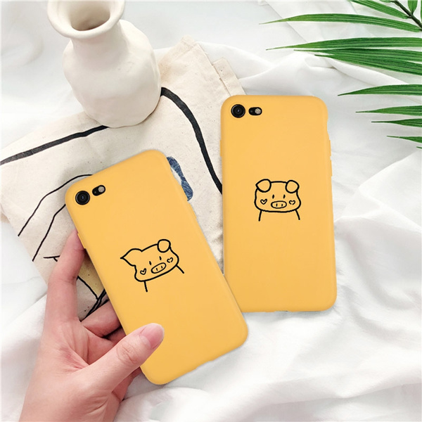 Cute Cartoon Lovers Couple Case for iPhone 6-XS Max Iphone cases