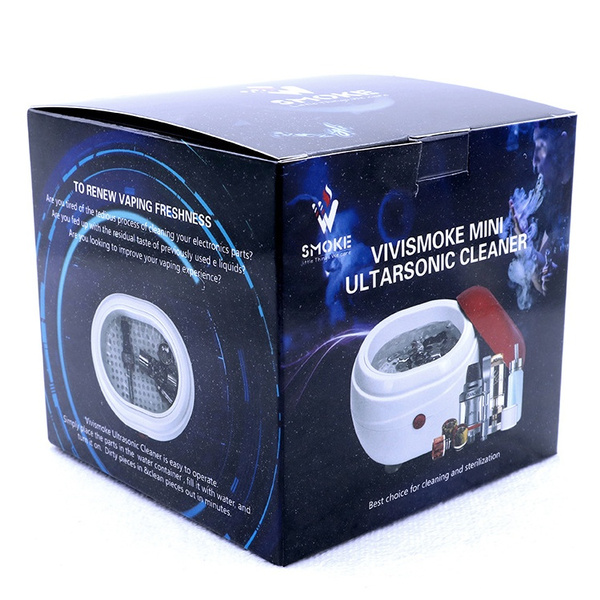Coil Ultrasonic Cleaner for RDTA RTA RDA RBA Atomizer SUB OHM Tank  Electronic Cigarette Mod Drip Tip Vape Tools Kit
