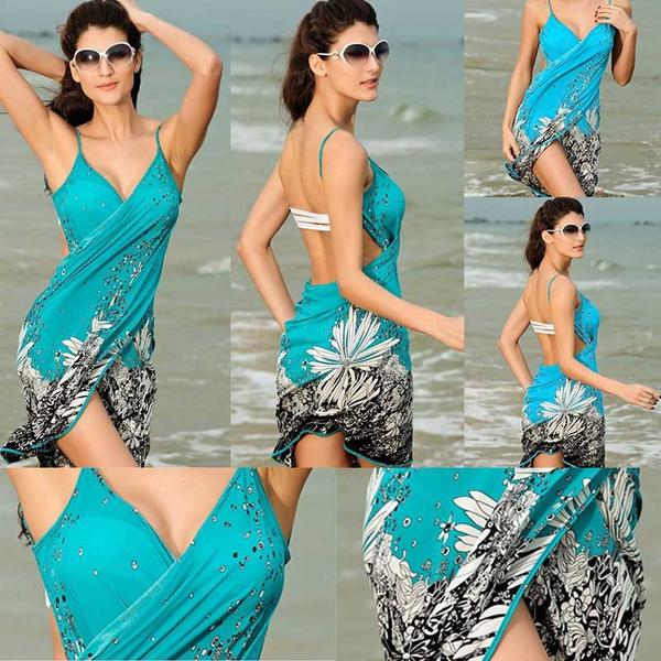 Fashion, bikini set, Cover, Beach