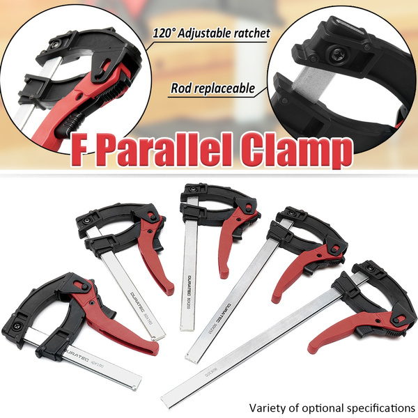 120 Degree Adjustable Quick Grip Clamps Parallel Clamp Woodworking F Clamp 90x 100 160 200 250 300mm 1200n Wish