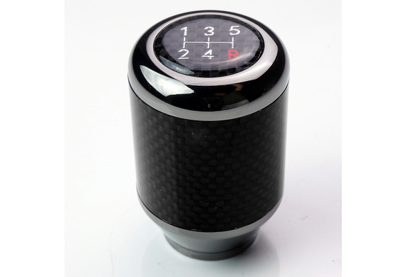 JDM Gunmetal//Carbon Fiber ModifyStreet Fatboy Style 5-Speed 393g Weighted Shift knob