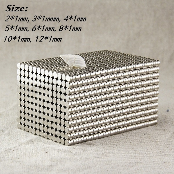 New Fashion 3mm/4mm/5mm Neodymium Neocube Cube Fun Powerful Square Magnets