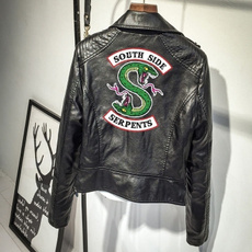 Fashion, serpent, leather, slim