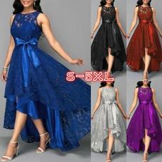 Mini, sleeveless, Fashion, Lace