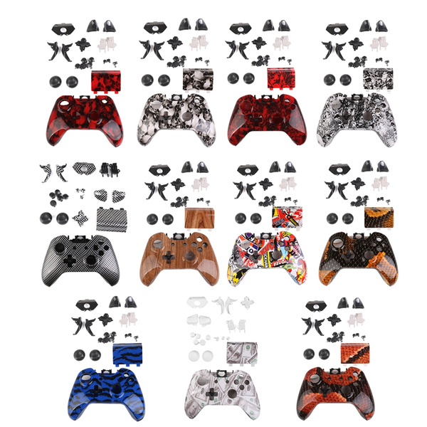gazechimp Full Housing Shell Case Buttons Parts Replace for Microsoft Xbox  One Controller