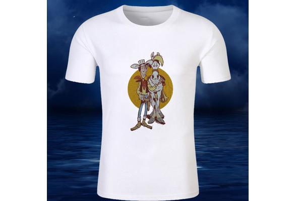 Dalton gang Terence Hill LUCKY LUKE T-shirt Jolly Jumper Daisy Town Morris