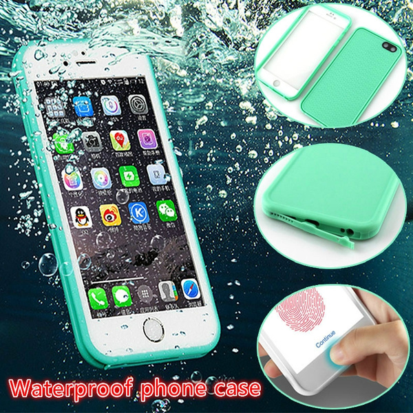 new products 7a2d8 75098 IP68 Real Waterproof Phone Case For iPhone X 8 7 Plus 6 6S Plus Full  Protection Cover Under Water Case For iPhone 5 5S XR XS Max