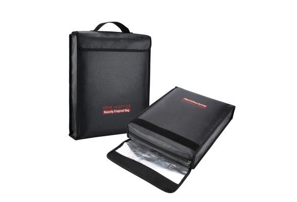 Fireproof Bag Money Wallet Document Passport Cash Card Battery Bag Waterproof