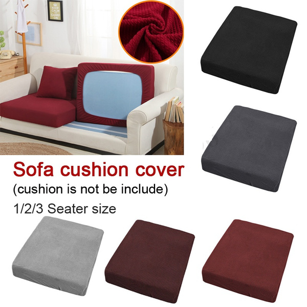 Seat Cushion Cover Fabric Couch Slip