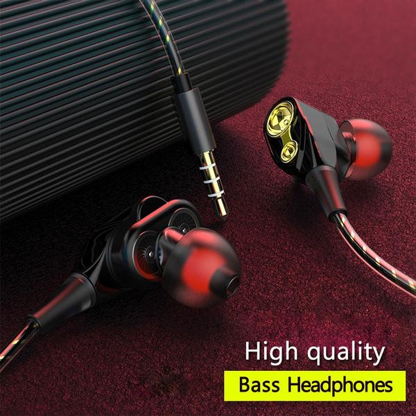 Headset, Microphone, Wire, Earphone