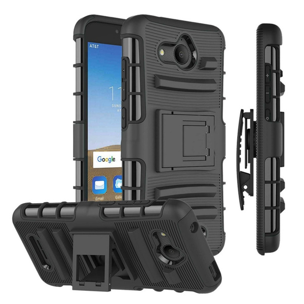 Rugged Belt Clip Holster Armor Cover For Alcatel Tetra / 5041C Case Full  Body Protection ShockProof Heavy Duty Combo Shell Funda
