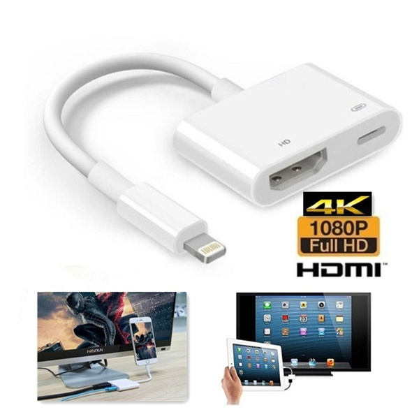 ipad, syncdatacable, Hdmi, TV