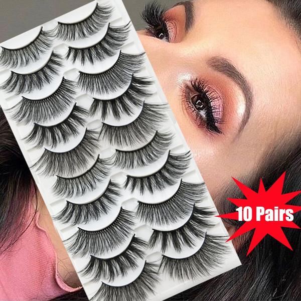 False Eyelashes, minklashe, Eye Makeup, thcikeyelashe