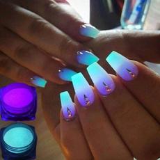 Box, nailpowderchrome, nailglitter, Beauty