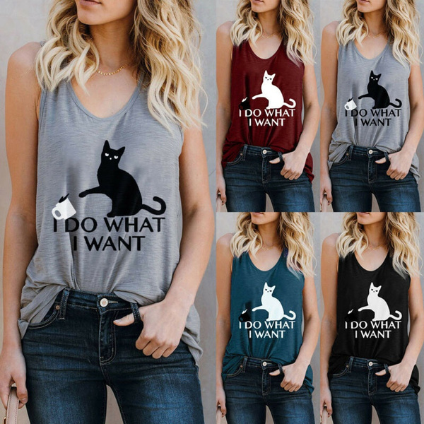 Summer, Fashion, letter print, Tops