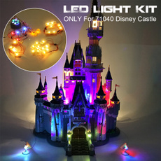 Toy, led, creator, disneycastle