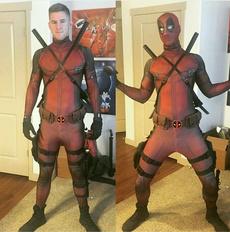 deadpooladultcostume, cosplaybodysuit, Cosplay, deadpoolcosplay