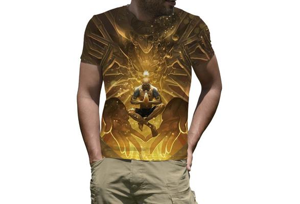 New Anime Hunter X Hunter Japan Hunter Isaac Netero Cosplay T-Shirt