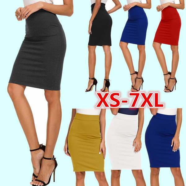 pencil, Women's Fashion, Plus Size, high waist