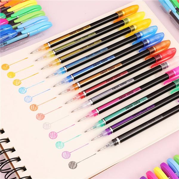 highlighterpen, Pastels, School, paintingpen