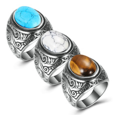 Steel, Turquoise, Fashion, Stainless Steel