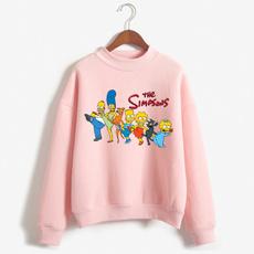 printed, Sleeve, simpsonsweatshirt, simpsons clothing