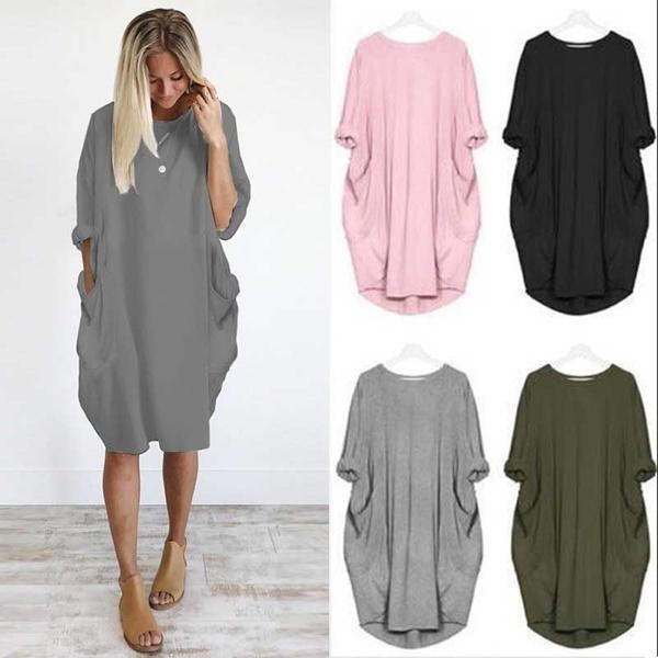 Mini, Shorts, short dress, Sleeve