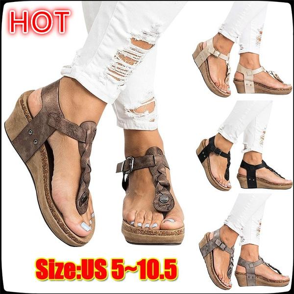Women/'s Snake Flats Sandals Summer Flip Flops Casual Slippers Beach Shoes Size