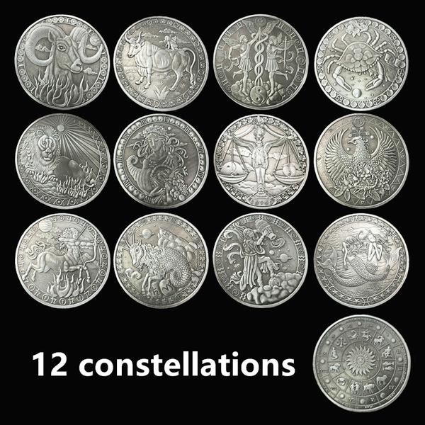 constellationcoin, Jewelry, funnycoin, twelveconstellation