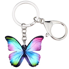 butterfly, keyholder, Fashion, Colorful