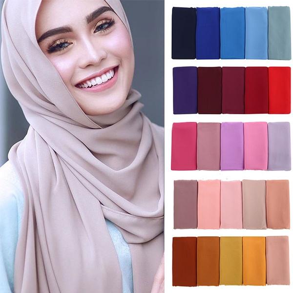 women scarf, muslimchiffonscarf, Shawl, headwear