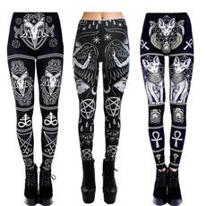 Goth, Plus Size, pants, gothic