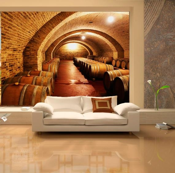 Large Wall Mural Of Ancient Castle