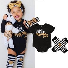 Baby Girl, babygirl3pcsset, babyromper, Outfits