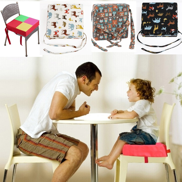 Children Kids Dining Chair Booster Cushion Baby Booster Seats Child  Heightening Cushion