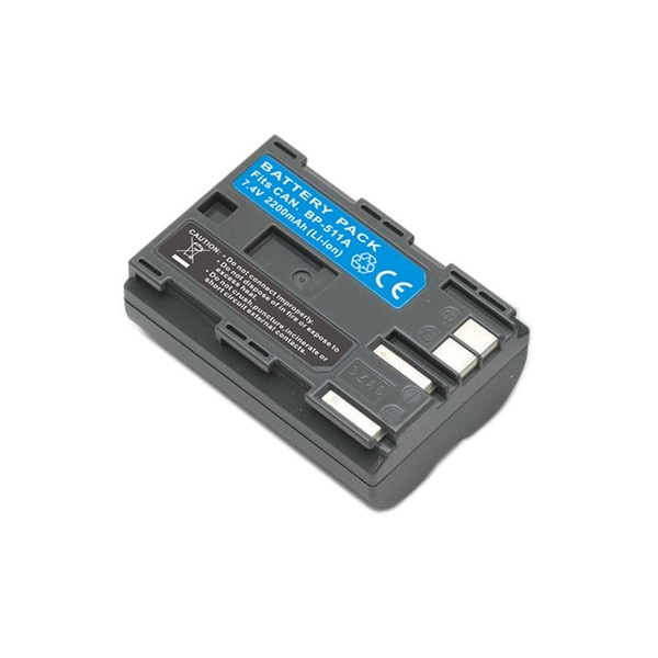 BP-511A BP-511 BP511 BP511A Replacement Digital Camera Battery for Canon  EOS 10D 20D 30D 40D 50D D60 G6 Pro 1 Pro90