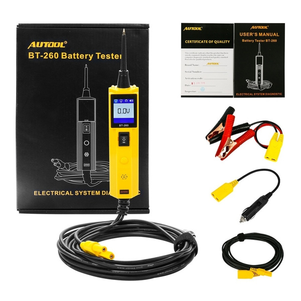 Car Automotive Circuit Tester Electrical System Diagnostic Tool Power Probe  Voltage Test LN