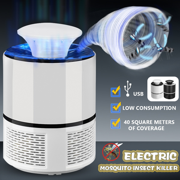 Mosquito Insect Killer USB Electric LED Light Fly Bug Zapper Trap Catcher Lamp B