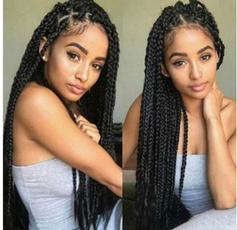 wig, braidedwigsforblackwomen, Head, africanamericanafrowig