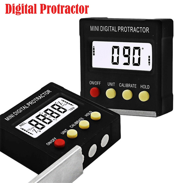Digital Protractor Gauge Level Angle Finder Inclinometer Magnet Base New