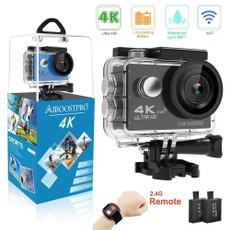 Remote Controls, Waterproof, Photography, 4kactioncamera