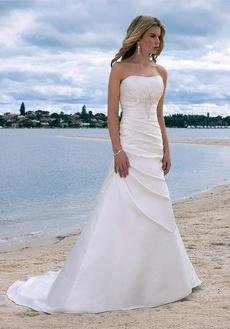Abiti Da Sposa Wish.Sweetheart Beaded Wedding Dresses Ruffle Bridal Gown Ball Gown